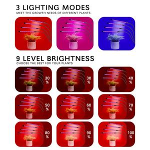 Image 2 - BUYBAY LED Grow Light Full Spectrum Flexible Clip Phyto Lamp USB 9W 20W 27W 36W Grow Lamp for Plants Seedling Indoor Growth Lamp