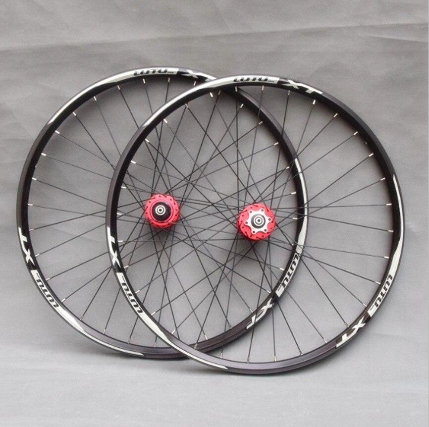 24/26/27. rodas de 5/29 polegadas selado rolamento disco freio rodado aro duplo 32h mtb mountain bike alumínio liga jantes
