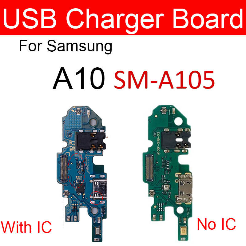 Charger USB Jack Dock Board For Samsung Galaxy A10 SM-A105FD A105FD Charging Port Module Usb Connector Port Board Replacement