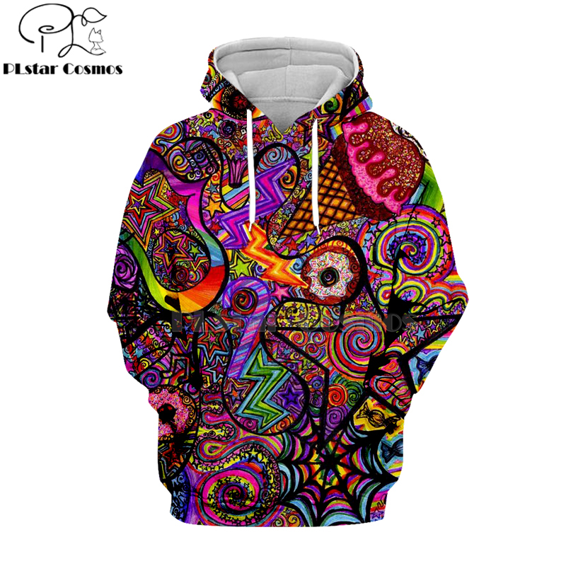 PLstar Cosmos Hippie Mandala Trippy Abstract Psychedelic 3d Hoodies/Sweatshirt Winter Autumn Long Sleeve Streetwear-16