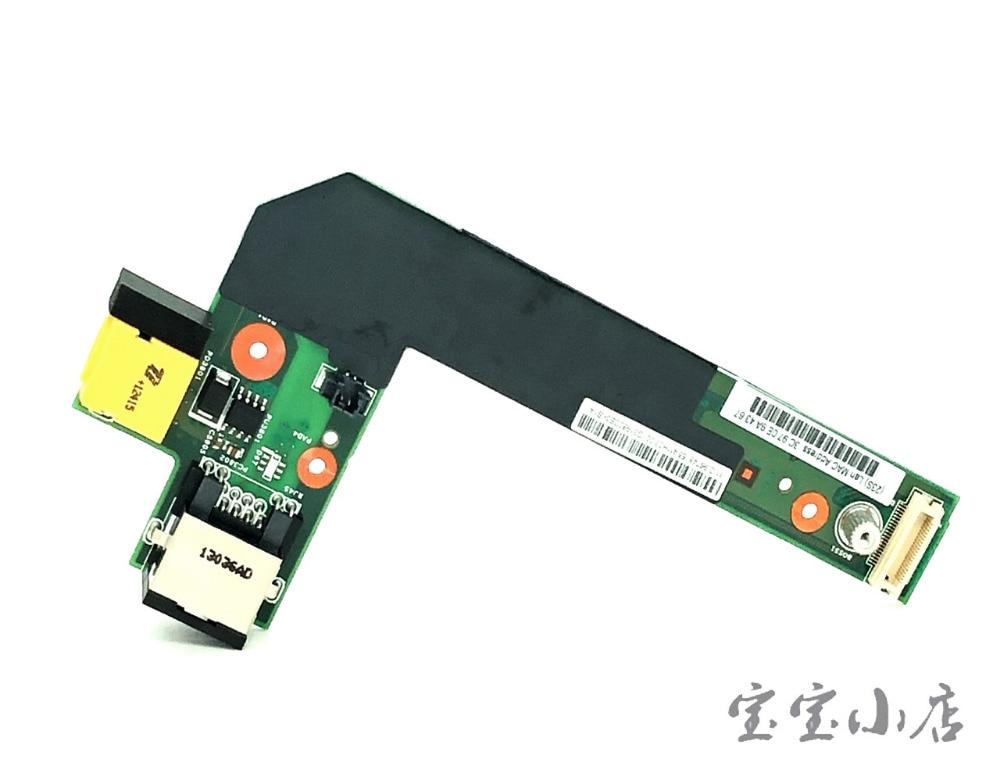 全新联想Lenovo Thinkpad E420 E425 E520 E525 电源接口小板 网卡接口板04W1867 04W2083 6M.4MIBD.001