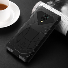 IMATCH Aluminum Metal Silicone Shockproof Case Cover For Xiaomi Redmi Note 9S Pro Max / Note 8 Pro Dirt Shock Proof Cover Case