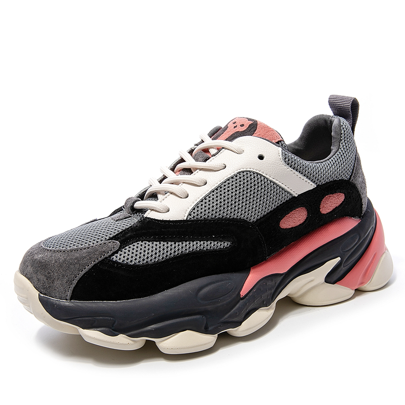 High Quality Lightweight Womens Platform Sneakers 5CM Casual Running Dad Shoes Breathable Chunky
