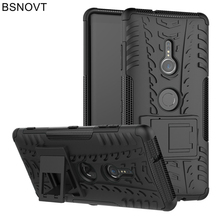 лучшая цена For Sony Xperia XZ3 Case Armor Bumper Soft Silicone Anti-knock Phone Case For Sony Xperia XZ3 Cover For Sony Xperia XZ3 BSNOVT