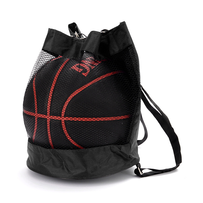 Basketball Backpack Oxford Shoulder Crossbody Bag Basketball Net Bag Volleyball Football Bag