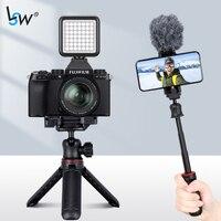 Palo de selfi plegable 3 en 1, trípode con Bluetooth para iphone/Android/ Gopro/cámara, palo extensible de mano para Vlog de teléfono
