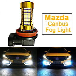 1x Car LED Fog Lights Bulb H8 H11 9006 HB4 H10 9005 HB3 For Mazda 3 Axela Mazda 2 6 8 CX-5 cx5 cx 5 7 Atenza 323 626 MX5 CX3 RX8