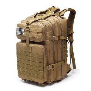 Image 4 - Военный рюкзак на шнурке 25L/35L/40L/45L, 800D, водонепроницаемый, Оксфорд, для рыбалки, охоты, кемпинга, скалолазания