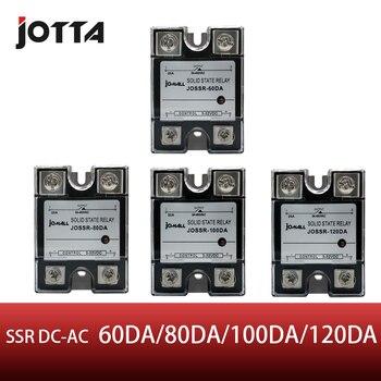 SSR-60DA 80DA 100DA 120DA control DE CC AC SSR relé de estado sólido monofásico