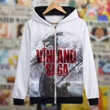 Anime Jacket Hoodie Vinland Saga Sweatshirts Autumn Coat Cosplay-Costume Spring Thorfinn