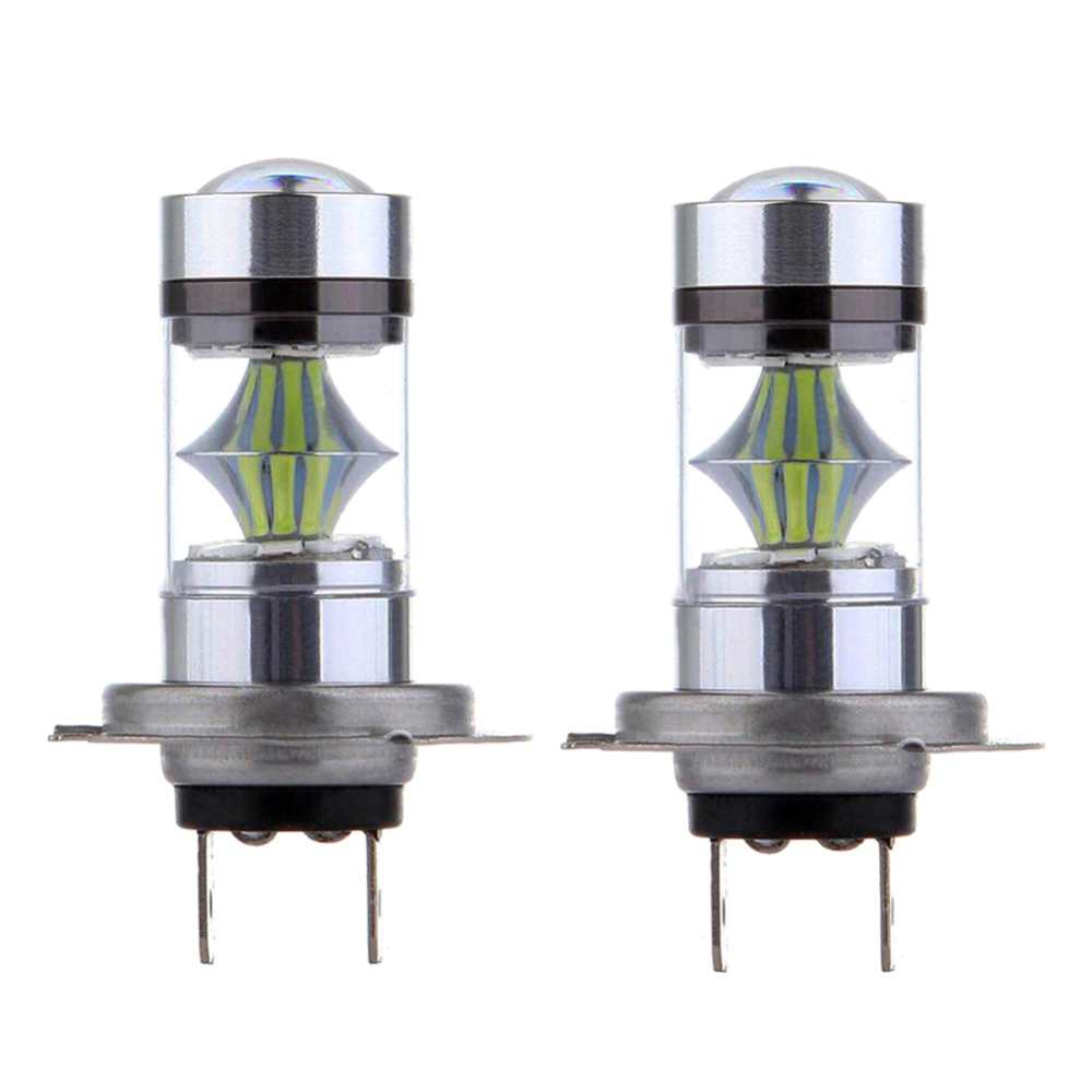 2pcs H1 H7 H8 9005 Hb3 Led Bulb Super Bright 3030smd Car Fog Lights 100w 20led Fog Driving Lights Bulbs