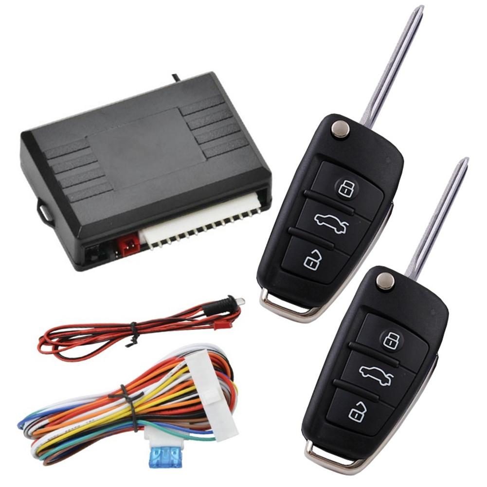 Start Stop Button 12-24V Universal Alarm System Car Automatic Central Kit Door Lock Vehicle Remote Control System Auto Car Alarm
