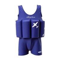 Children Swimwear With Floating Foam Girls Boys Infant Baby Swimming Pool Suit Safe Nylon Spandex Swimsuit