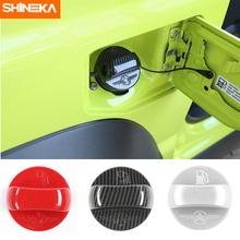 SHINEKA Interior Mouldings For Suzuki Jimny Car Inner Fuel Tank Cap Decoration Cover Stickers Accessories 2019+