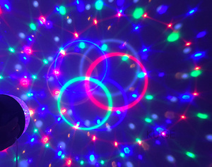 Image 4 - Upgrades Crystal Magic Ball Led Stage Lamp 7 Voice Control Modes 9 Colors Stage Lighting Disco Laser Light Party Lights Lumiere