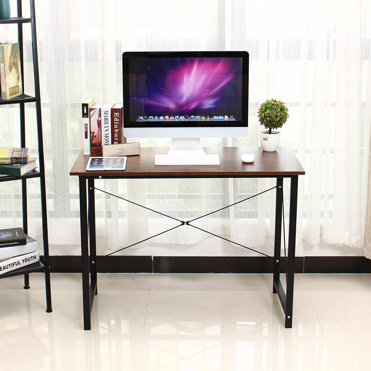 Wood Laptop Desk Laptop Bed Table Standing Desk Laptop Stand Mesa Study Table Laptop Table Computer Desk Computer Table