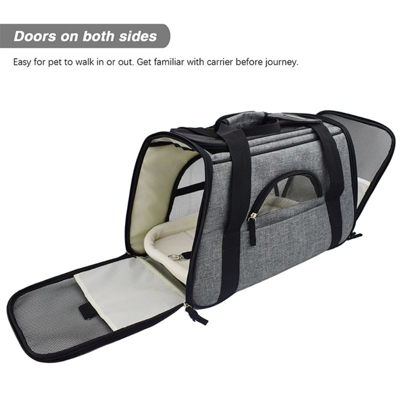 Travel Pet Dog Puppy Cat Carrier Bag Sling Outdoor Adjustable Shoulder Pouch Bag