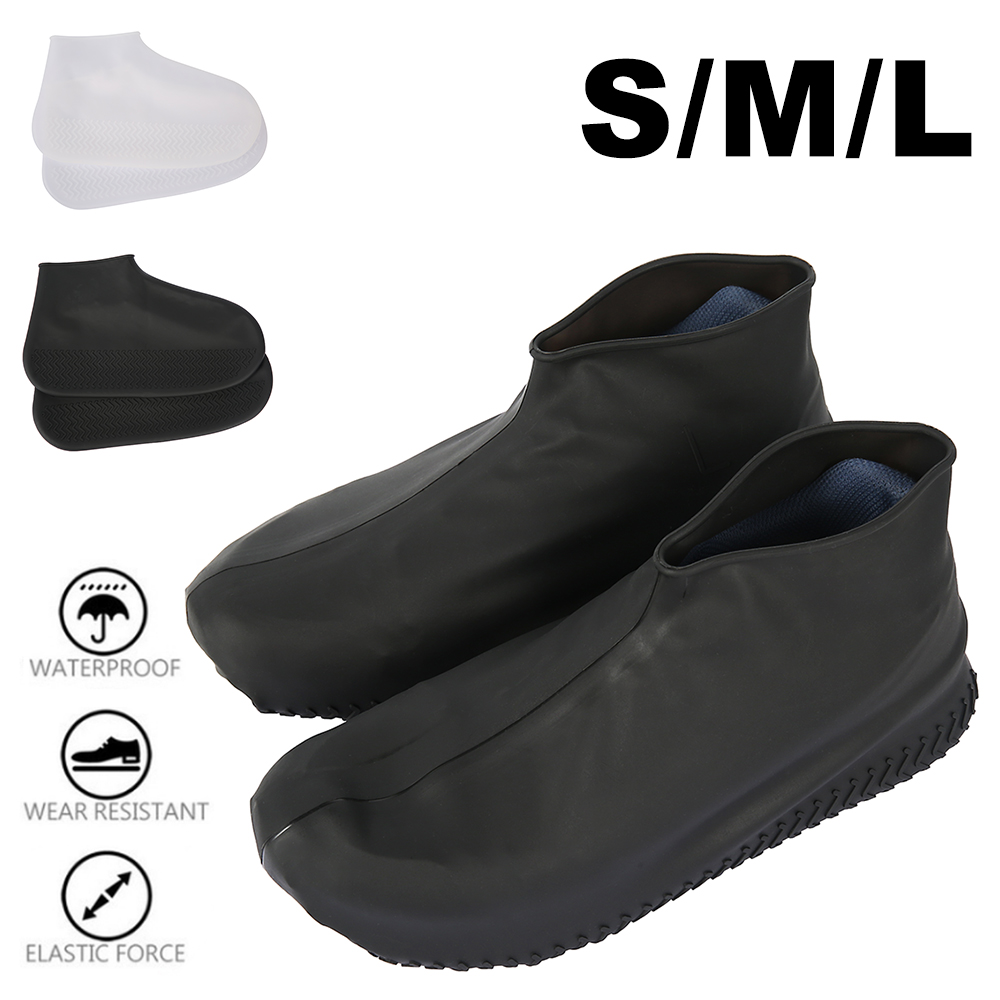 Shoe Covers Silicone Case Rain Boot Reusable Portable Non-slip Overshoes