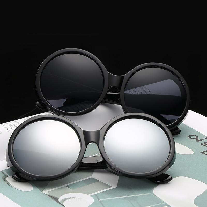 Big Large Oversize Round Sunglasses Women Unisex Vintage Casual Retro Gothic Shade Eyewear 2019 Trendy Sun Glasses