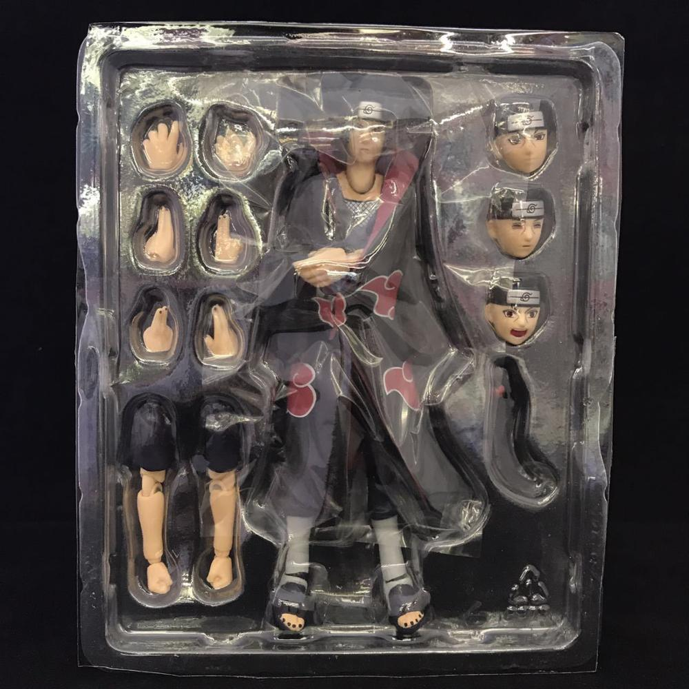 15cm Naruto Uchiha Itachi Joint Movement Action Figure PVC Collection Model Toys For Christmas Gift