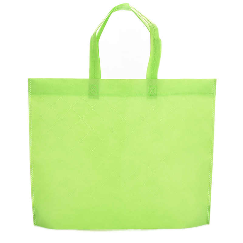 Shopping Bag Fabric Reusable Cloth Grocery Packing Recyclable Hight Simple Design Healthy Tote Handbag Trendy 1pcs