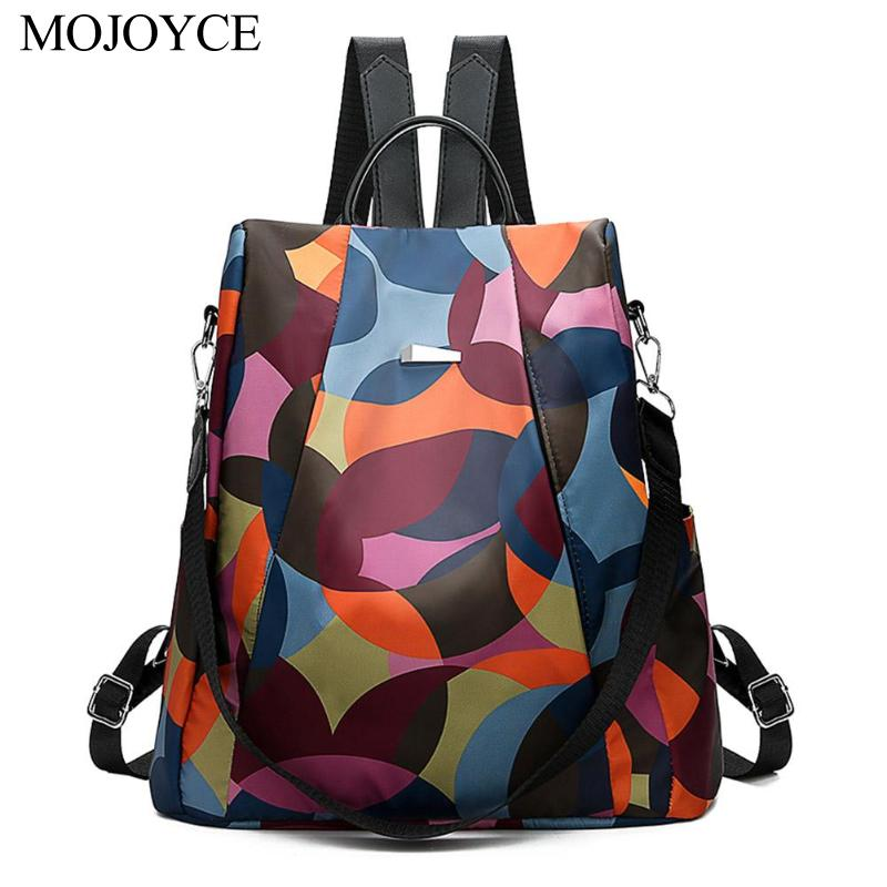 Fashion Oxford Backpack Women Anti Theft Rucksack Girls Bagpack Schoolbag for Teenagers Casual Daypack Sac A Dos Mochila Bolsas in Backpacks from Luggage Bags