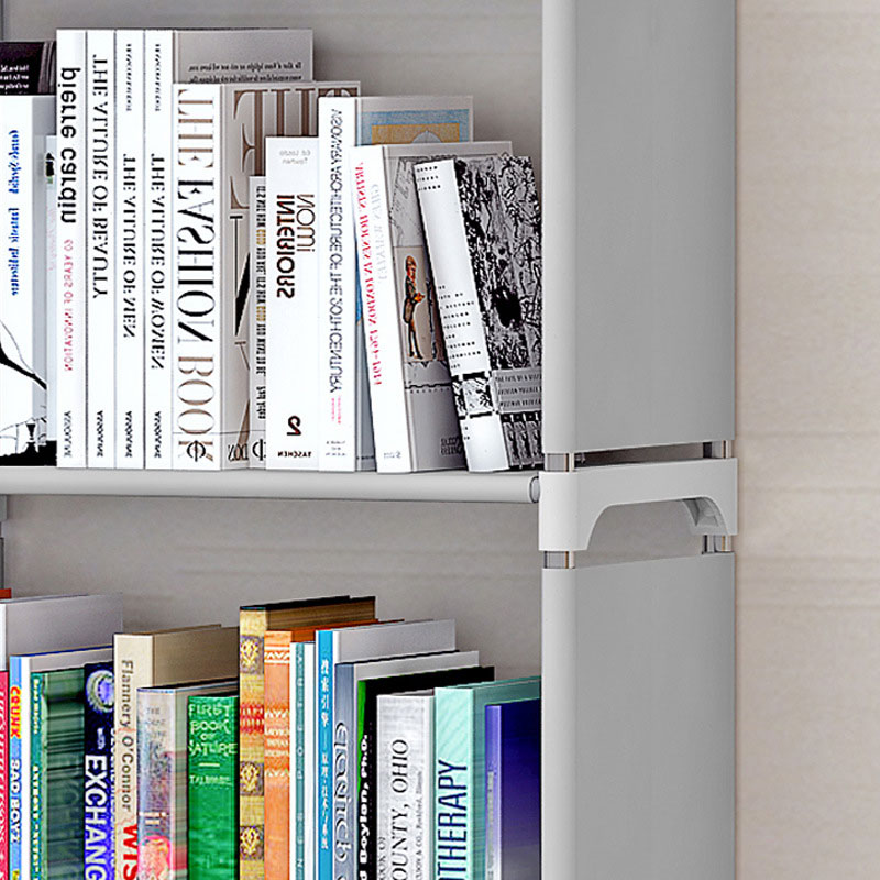 Image 4 - Bookshelf Storage Shelve for Books Simple Asemmbly Book Rack Bookcase for Home Furniture Boekenkast Home Furniture BookcaseBookcases   -