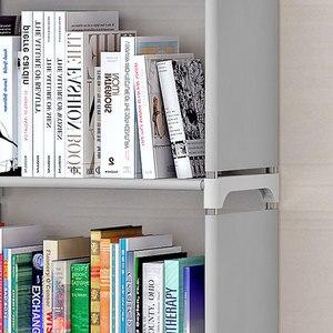 Image 4 - Stoccaggio scaffale Di Stoccaggio Accantonare per I Libri Semplice Asemmbly Libro Cremagliera Libreria per Mobili Per La Casa Mobili Per La Casa di Boekenkast Libreria