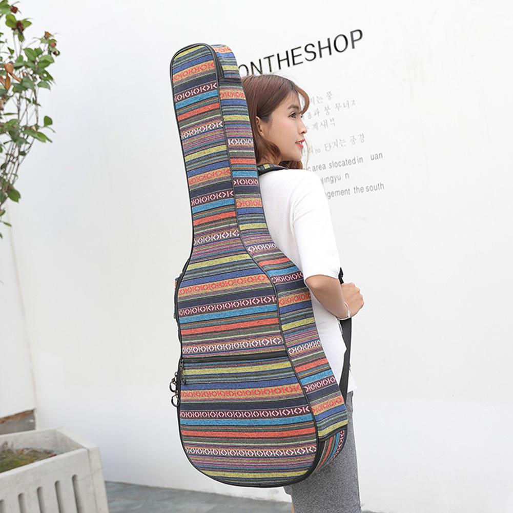 New <font><b>40</b></font>/41 Inches Thicken Classical <font><b>Guitar</b></font> Bag Backpack <font><b>Guitar</b></font> Gigt Bag Oxford Waterproof <font><b>Guitar</b></font> Cover <font><b>Case</b></font> with Shoulder Straps image