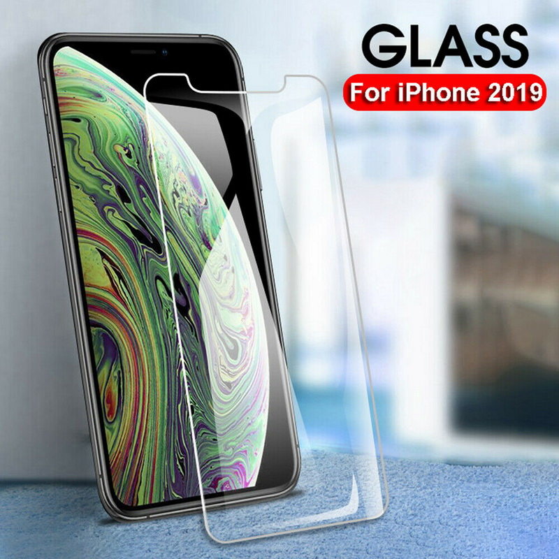YISHANGOU 9H 2PACK For Apple IPhone 11 2019 Pro Max Tempered Glass Film Screen Protector For Apple IPhone XS MAX XR