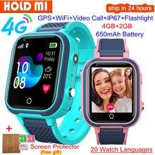Смарт-часы LT21, 4G, GPS, Wi-Fi, SOS, IP67