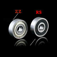 Deep groove ball miniature bearing, high-quality bearing steel bearing, MR117ZZ / MR137ZZ / 697ZZ / RS / 687ZZ / 607ZZ / RS627ZZ