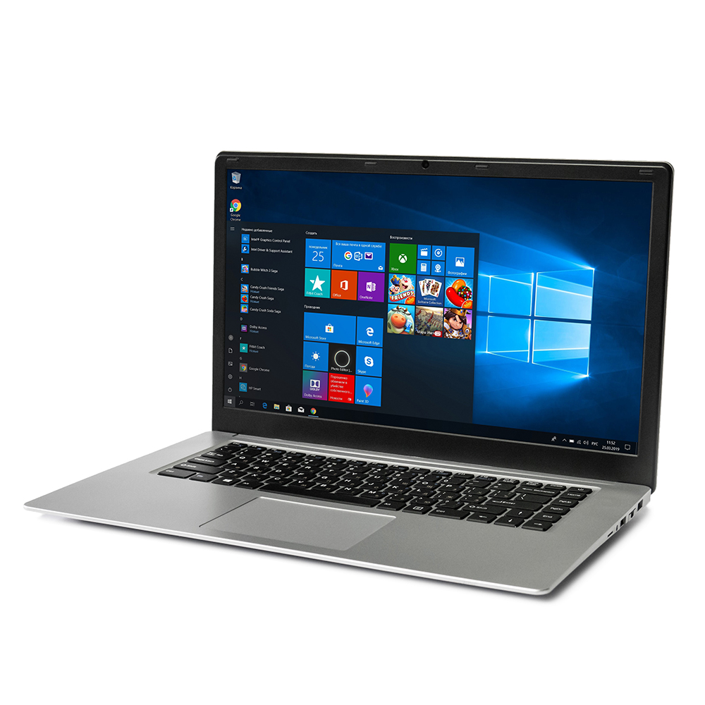 YEPO 737A6 Laptop Notebook 15.6 Inch Intel Apollo Lake J3455 6G RAM 128 ROM SSD Intel HD Graphics 500