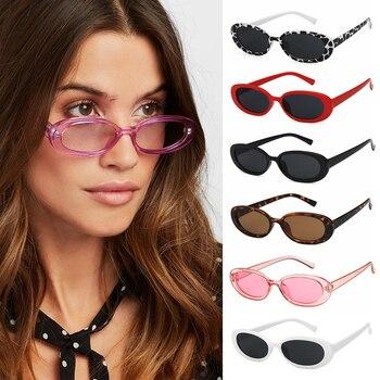 Fashion Oval Frame Sun Glasses Retro Sunglasses Women okulary Small Shades Polarized Eyewear UV400 gafas