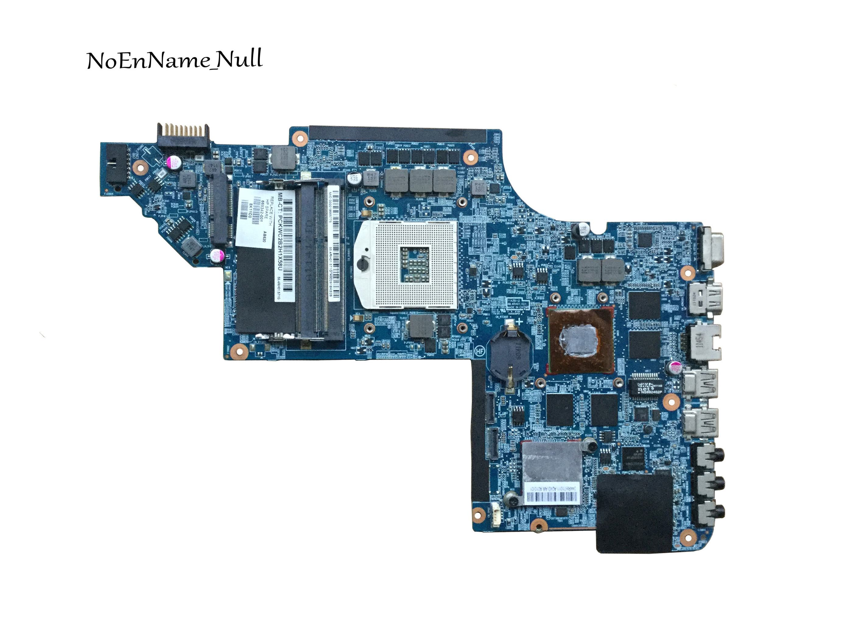 665342-001 Free Shipping Laptop Motherboard For HP Pavilion DV6T DV6-6000 Motherboard HD6770 2GB Notebook PC Tested OK