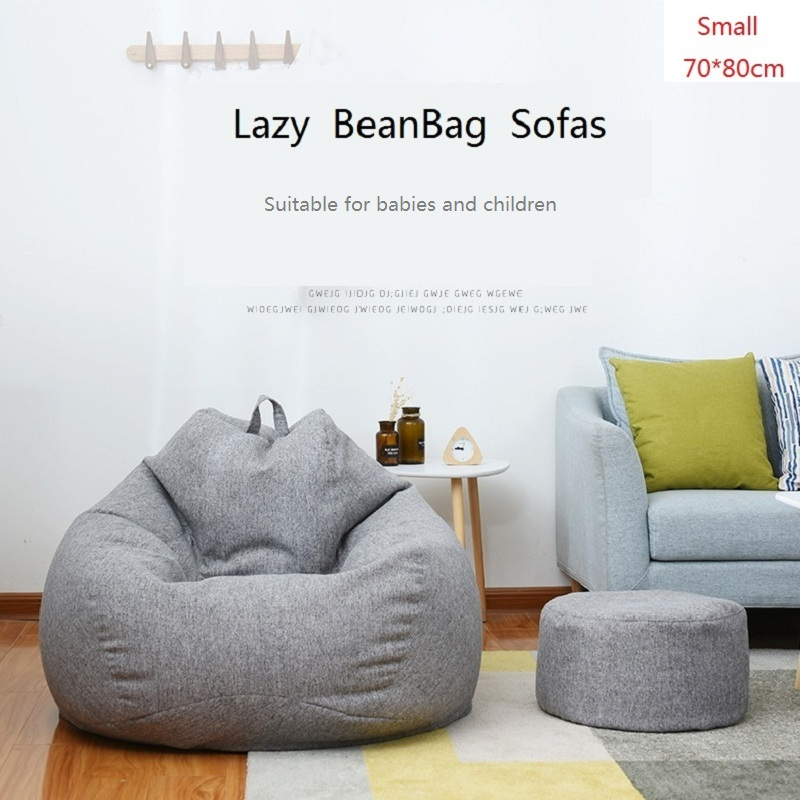 70 * 80cm Small Baby Bean Bag Sofa Cover