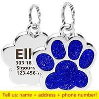 Dog paw-Blue