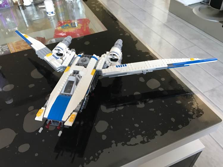 Image 5 - 05054 Star Wars The Rebel U Wing Fighter Jets Model 679pcs Building Blocks Bricks Toys Kids Gifts Compatible with 75155-in Blocks from Toys & Hobbies