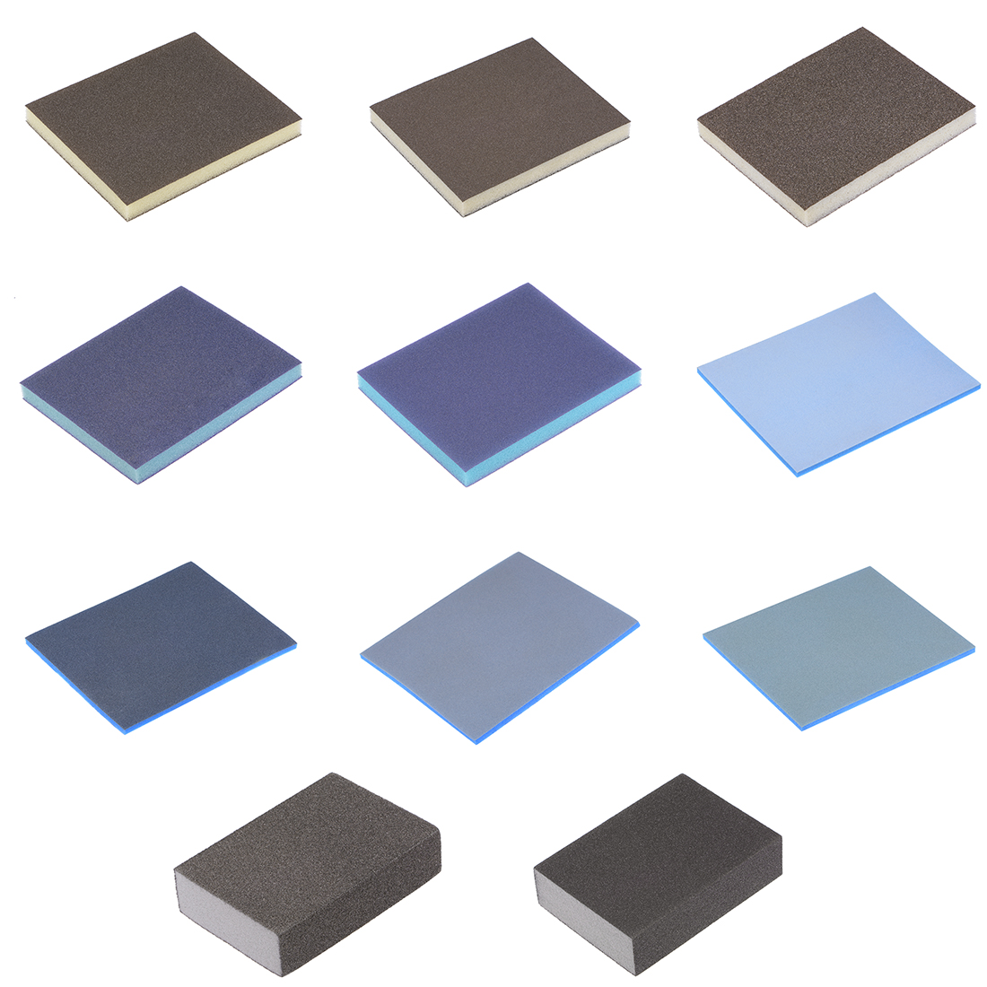 Uxcell Aluminum Oxide Sanding Sponge Block For Wood Paint Metal Sanding Wood Paint Metal Plastic And Drywall Aluminum Oxide