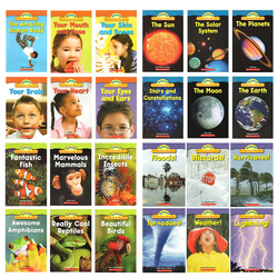 English Science 24 Books Scholastic Science Vocabulary Readers Educational Toys Montessori English Books for Children Reading