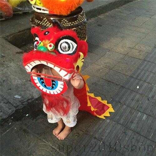 Art Populaire chinois Danse Du Lion Mascotte Sud Lion Pour Enfants Vêtements Cosplay Partie Fantaisie Robe Publicité Défilé Tenues