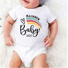 Baby Clothes Girl Rainbow Clothes Winter Jumpsuit Kids Jumpsuit for Newborn Heart Printing