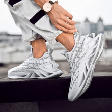Summer reflective breathable tide shoes running shoes lace o