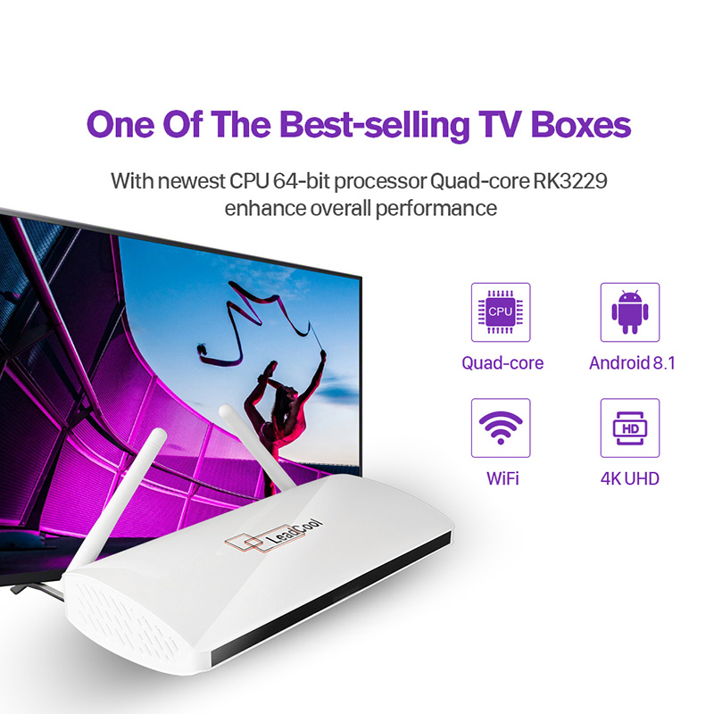 Image 4 - Leadcool Android IPTV France Box SUBTV IPTV Subscription 1 Year code RK3229 Full HD SUBTV Spain Dutch Italia Portugal IPTV Box-in Set-top Boxes from Consumer Electronics