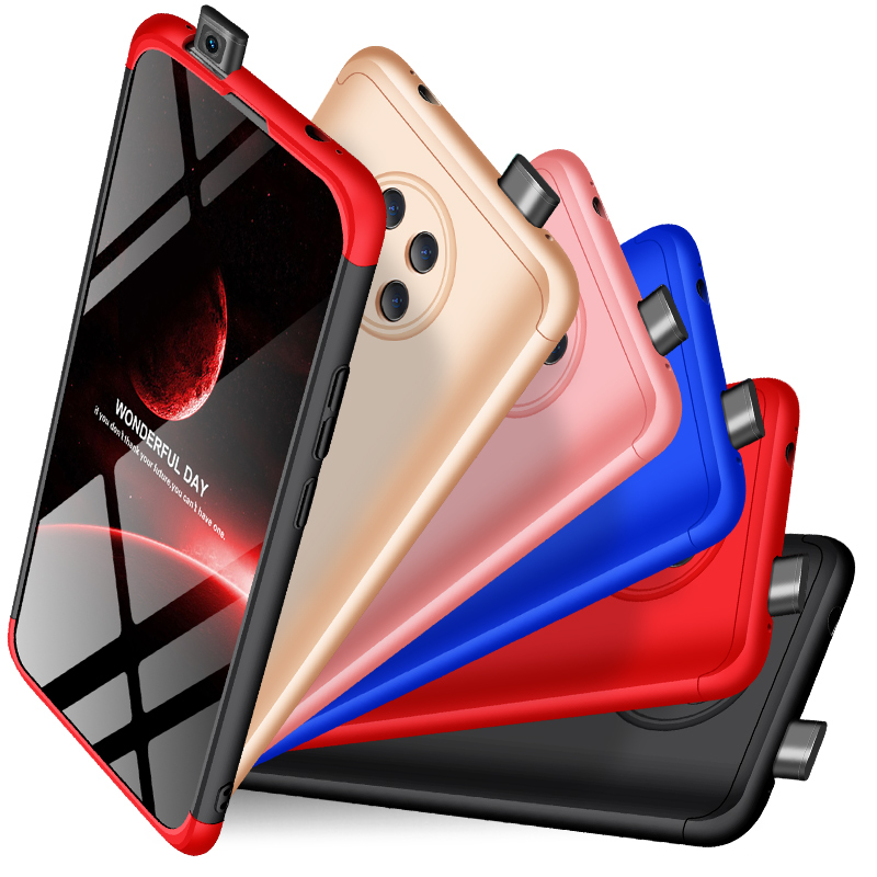 360 Full Protection Hard PC Case For Xiaomi Redmi K30 Pro Cover shockproof case For Redmi K30 Pro Phone case + glass Film