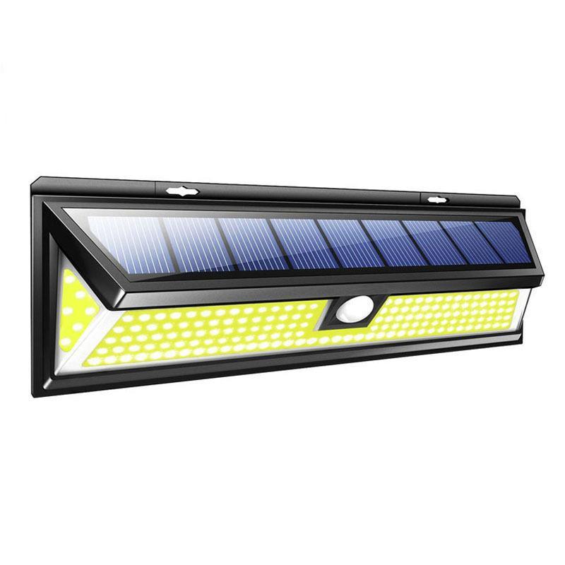 Super Bright 180 LEDs COB Solar Lamp Motion Sensor 4000LM Waterproof Emergency Garden Yard Lamps Solar Wall Light