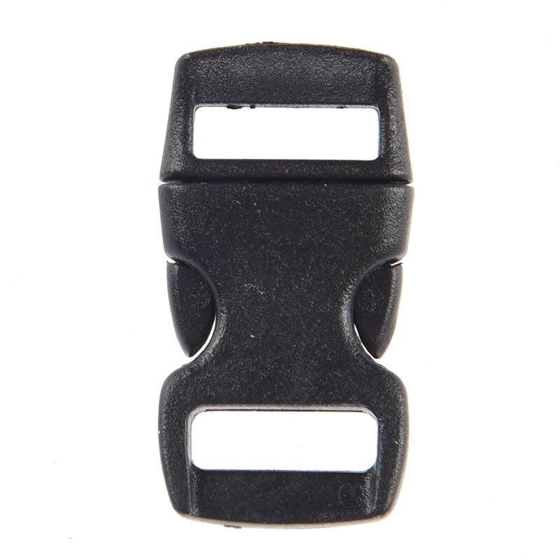 50 X Plastic Closure Click Closure Plug Closers Black