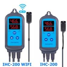 Inkbird IHC-200 & 200 wifi ue soquete & plug digital controlador de umidade para casa umidificação e desumidificação para aplicativo gratuito