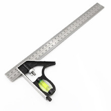 New 300mm(12) Adjustable Engineers Combination Try Square Set Right Angle Ruler  P10 12 inch 300mm adjustable sliding combination square ruler
