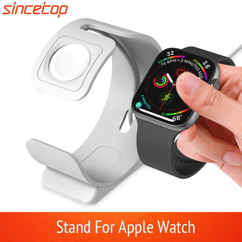 Charge Stand For Apple Watch Series1/2/3/4/5/6/SE 44/40/42/38mm Charging Bracket Dock Station For iWatch Holder Mount Nightstand